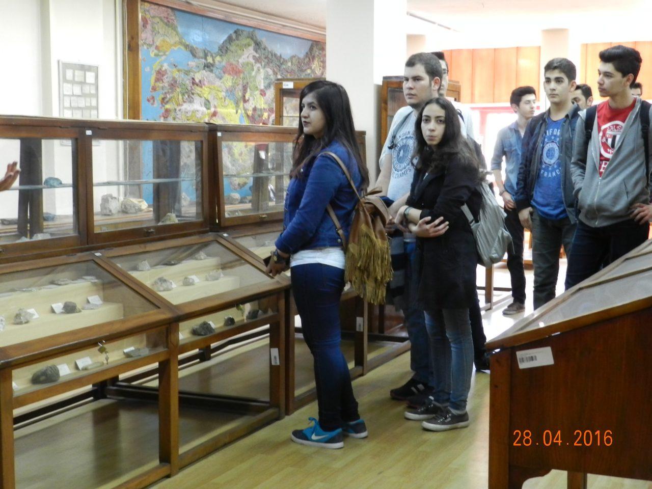 Lise Öğrencileri Bölüm Ziyareti